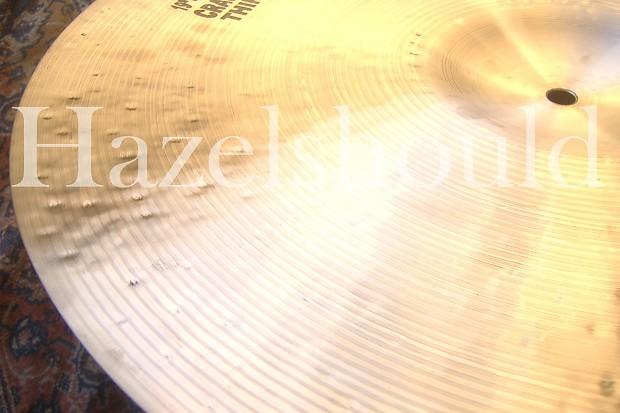 Istanbul Mehmet Cymbals Custom Series CTS18 18-Inch Sultan Thin Crash Cymbal
