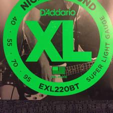 D'Addario D'Addario EXL220BT 40-95 Bass Strings