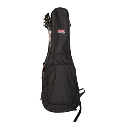 Gator GB-4G-ELECTRIC Electric Guitar Padded Gig Bag w/ Backpack Straps