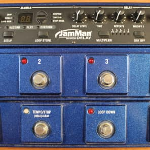 Digitech JamMan Delay JMD Looping Station with Syncing Delay Pedal for sale