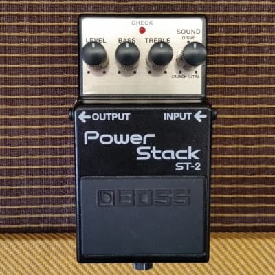 Boss ST-2 Power Stack Distortion Pedal (Demo)