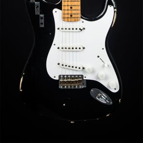 Fender Custom Shop Dennis Galuszka Masterbuilt Private Collection H.A.R. Stratocaster - Black for sale