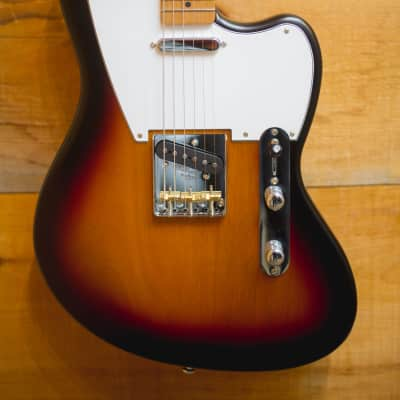 Palermo Jazz Bastard Electric Guitar 2018 2 Tone Sunburst NEW FREE SHIPPING for sale