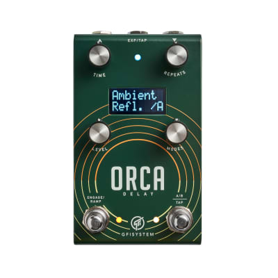 GFI System Orca Delay Guitar Effect Pedal