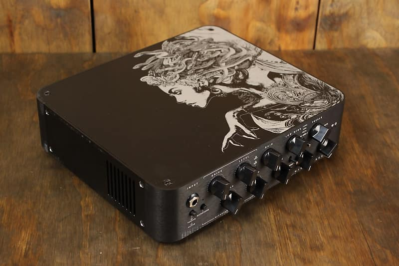 617c2650838 Darkglass Electronics Microtubes 900 Medusa LTD Edition Bass Amp black