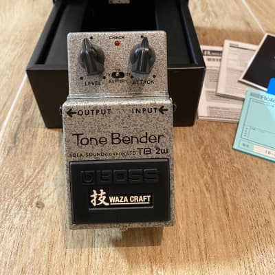 Boss TB-2W Tone Bender Waza Craft