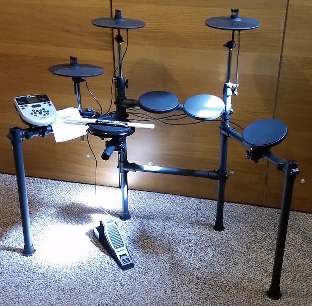 alesis dm7x 5 piece electronic drum set near mint reverb. Black Bedroom Furniture Sets. Home Design Ideas