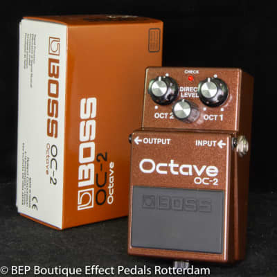 Boss OC-2 Octave Pedal 2002 s/n KQ36478, as used by the great Matt Bellamy & Chris Wolstenholme