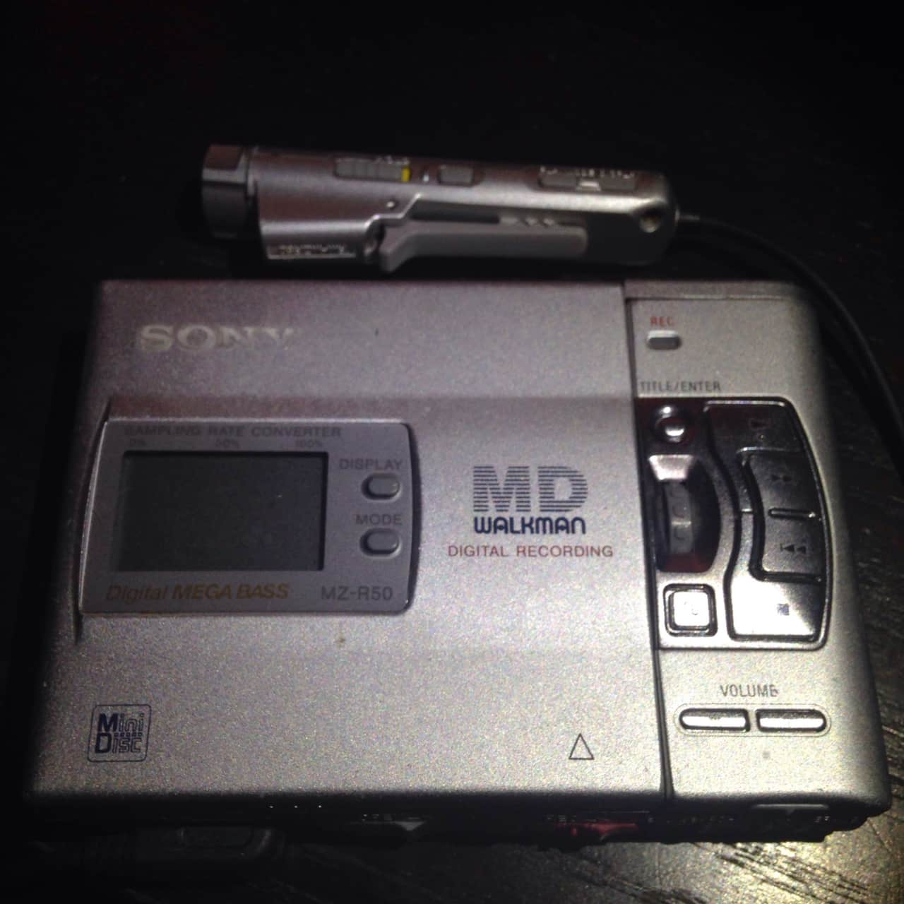 sony md minidisc mz r50 walkman portable minidisc recorder reverb. Black Bedroom Furniture Sets. Home Design Ideas