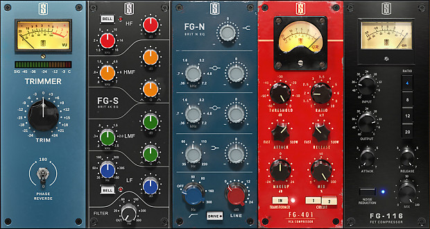 Slate Digital Bundle, VCC VTM FG-X VBC Mix Rack