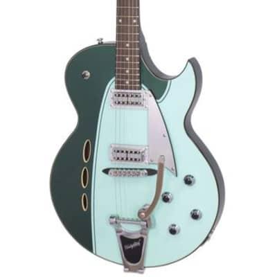 Backlund Rockerbox II DLX  Semi-Hollow Maple Body Mahogany Neck Soft C 6-String Electric Guitar