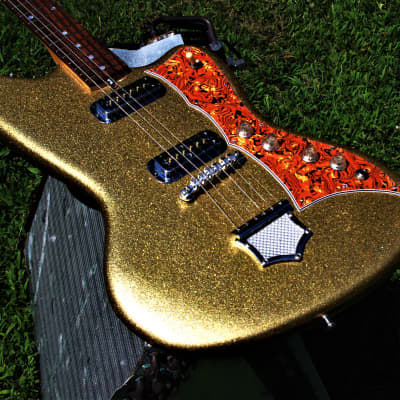 DEANE 400 1968 Gold Metallic Offset  Handmade by Colorado Music. Uber Rare only 4 made. Collectible for sale