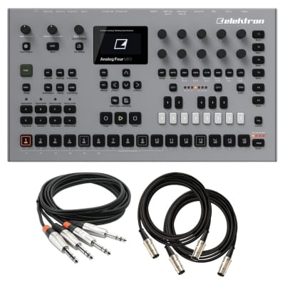 Elektron Analog Four MKII Synthesizer Module BASIC CABLE KIT