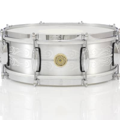 "Gretsch 14"" x 5"" USA Custom 135th Anniversary Solid Aluminum Snare Drum"