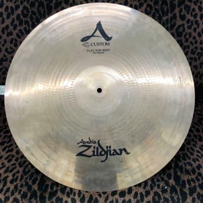 """Zildjian 20"""" A Custom Flat Top Ride Cymbal"""