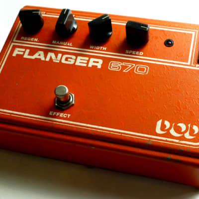 DOD Flanger 670 1980s orange for sale