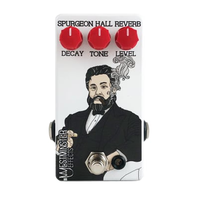 Westminster Effects WE-SHR Spurgeon Hall Reverb Pedal