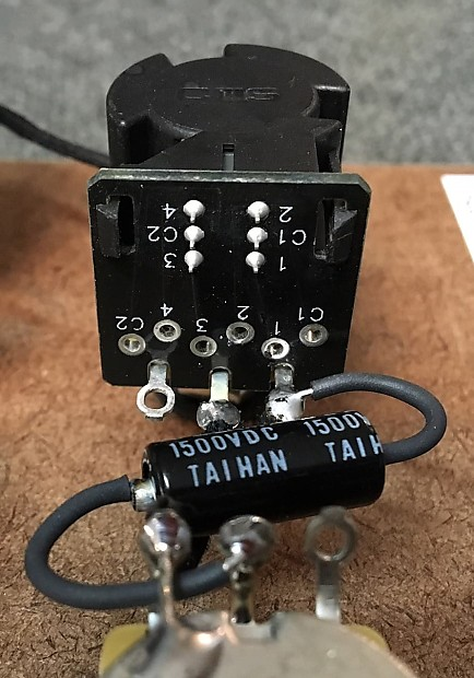 Harness Upgrade For Gibson Les Paul With Cts Push Pull