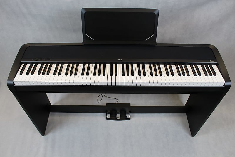 korg b1sp black digital piano music land reverb. Black Bedroom Furniture Sets. Home Design Ideas