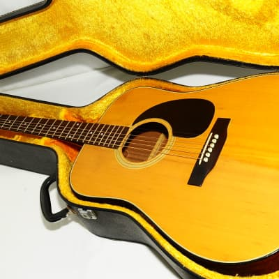 1970s Burny BJ-55N J-45 Style Acoustic Guitar Ref No 2596 for sale