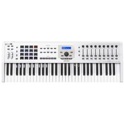 Arturia Keylab 61 MKII MIDI/USB Keyboard, White