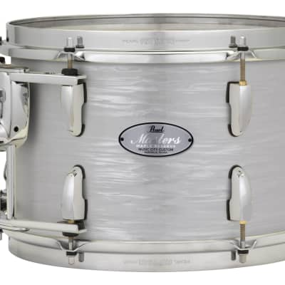 "Pearl Music City Custom Masters Maple Reserve 18""x16"" Bass Drum w/BB3 Mount MRV1816BB - Pearl White Oyster"