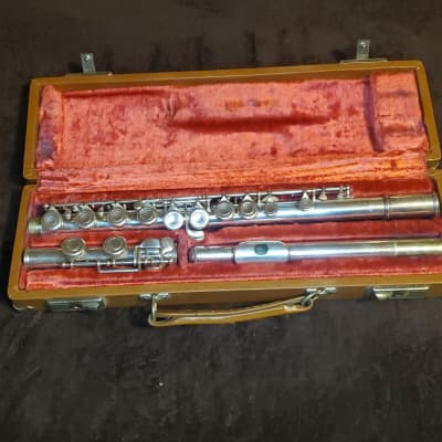 Artley Flute 1972 Silver Plated