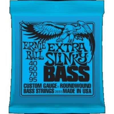Ernie Ball 2835 Extra Slinky Nickel Wound Bass Strings; 40-95