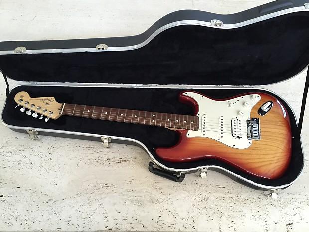 Fender American Series Fat Stratocaster Hss Sienna