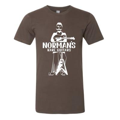 Norman's Logo Brown M