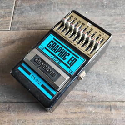 1983 Guyatone PS-012 Graphic EQ MIJ Japan Vintage Effects Pedal for sale