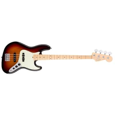 Fender American Professional Jazz Bass (3 Colour Sunburst, Maple) for sale
