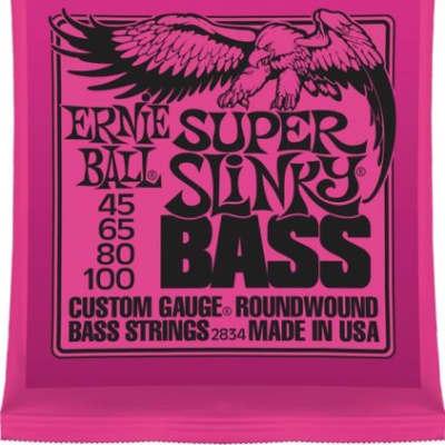 Ernie Ball 2834 Super Slinky Bass Strings, .045 - .100