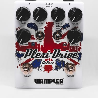Wampler Plexi Drive Deluxe Guitar Effects Pedal; Immaculate Condition!