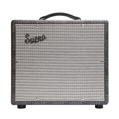 "Supro 1610RT Comet All-Tube 1x10"" Guitar Combo Amplifier, Black Rhino Hide Tolex (B-STOCK)"