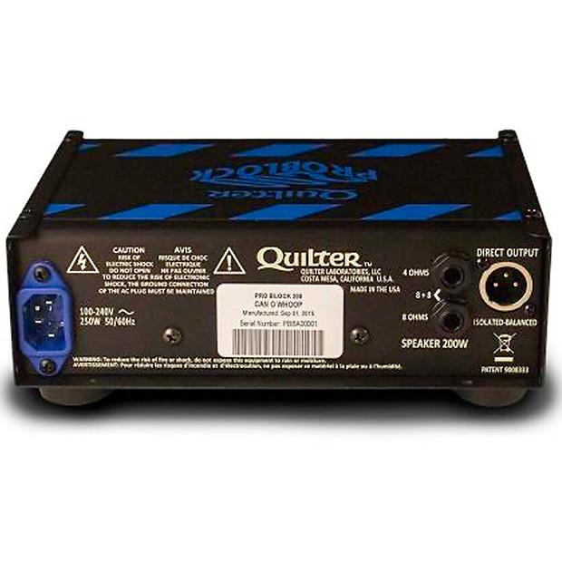 quilter labs problock 200 watt ultralight guitar amplifier reverb. Black Bedroom Furniture Sets. Home Design Ideas