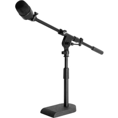 On-Stage Stands MS7920B Bass Drum Boom Combo Mic Stand