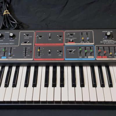 Moog Concertmate MG-1 1980s Black