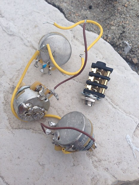 Gibson Flying V Pot Control embly Wiring Harness CTS   Reverb on gibson es-335 wiring, gibson 50s wiring, gibson switch wiring, gibson les paul wiring mods,