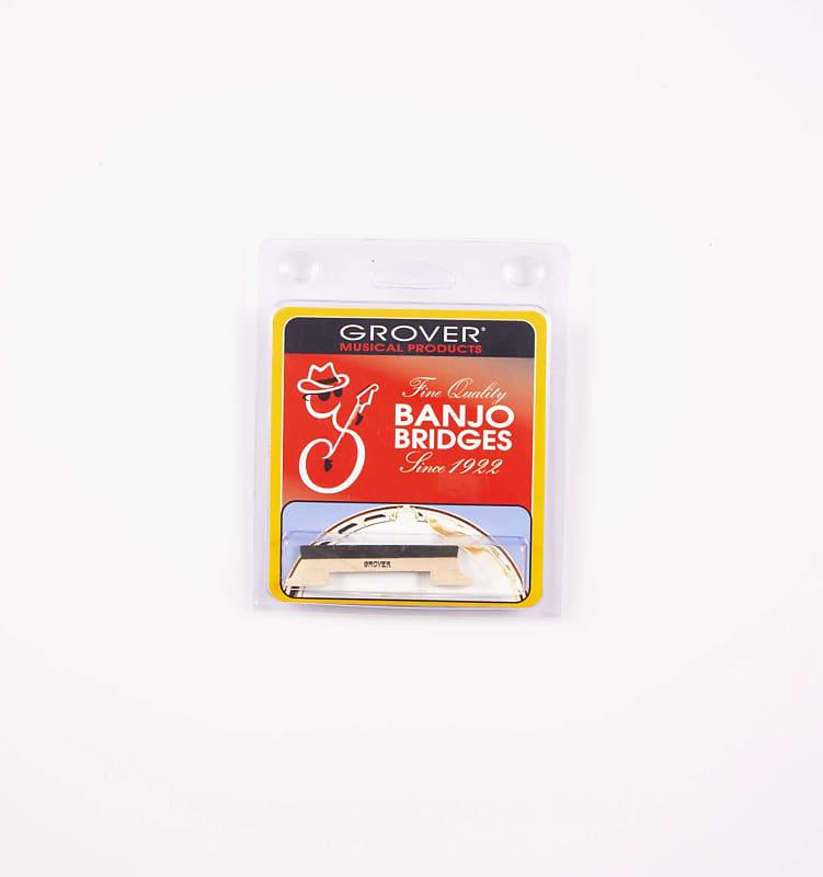 Grover Leader 4 String Banjo Bridge 1//2 or 5//8