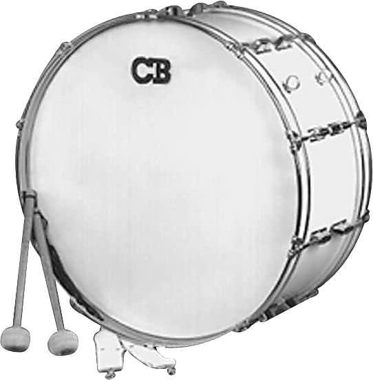 Cb Percussion Parade Series 10 X 26 Scotch White