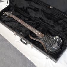 TRABEN Phoenix 5-string BASS guitar NEW w/ CASE -RARE -Black Shadow- Quilt Maple