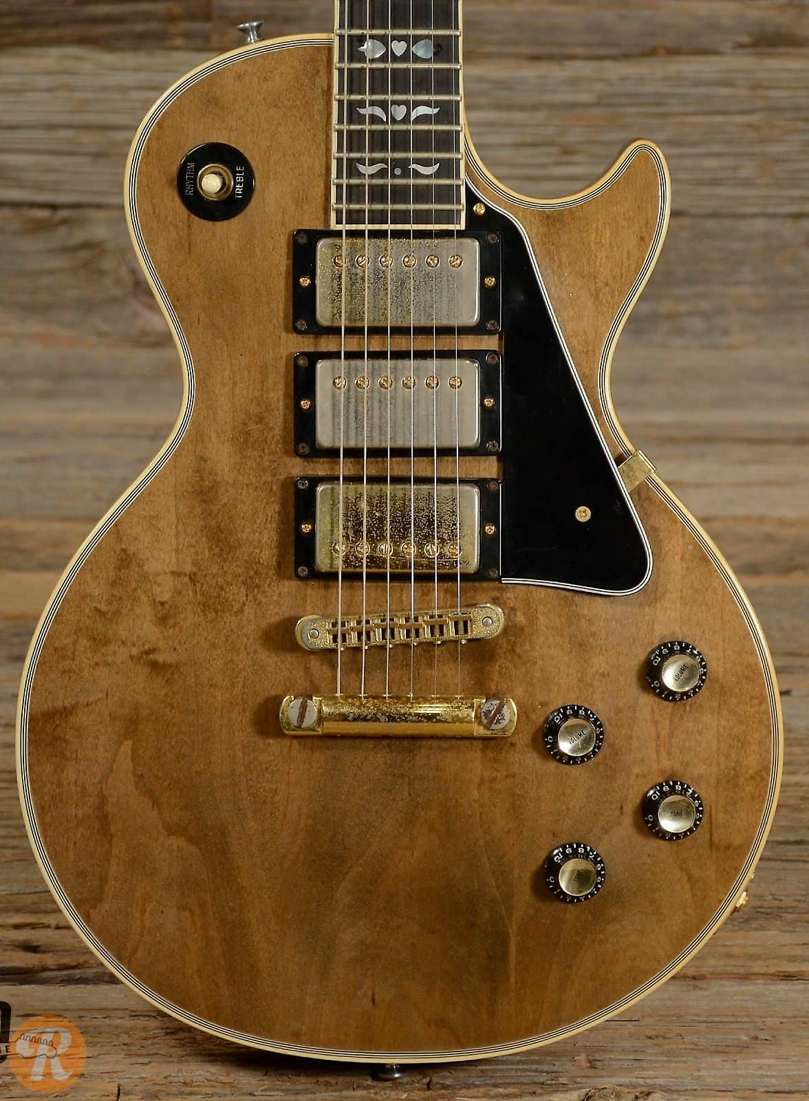 Gibson Les Paul Artisan 3-Pickup 1977 Walnut Price Guide ...