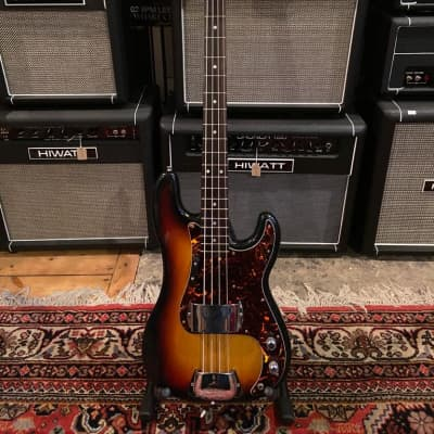 Maya  P Bass  70's  3 Tone Sunburst for sale