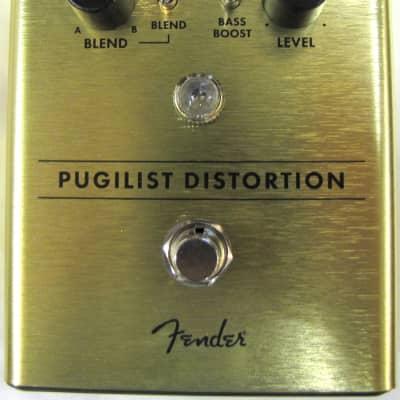 Used Fender Pugilist Distortion Guitar Effects Pedal!