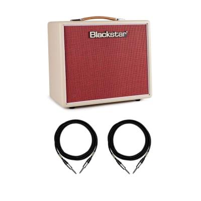 Blackstar Studio 10 6L6 Combo 10W Guitar Amp w/ 2 10-foot Mogami Cables Bundle