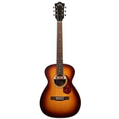 Guild M-240E Troubadour Vintage Sunburst Westerly Electro-Acoustic Guitar for sale
