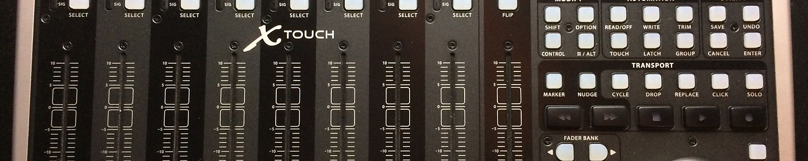 Behringer X Touch Universal Daw Control Surface Reverb