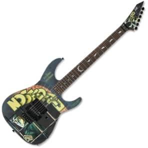 ESP LTD KH-Nosferatu Kirk Hammett Signature Black w/ Graphic
