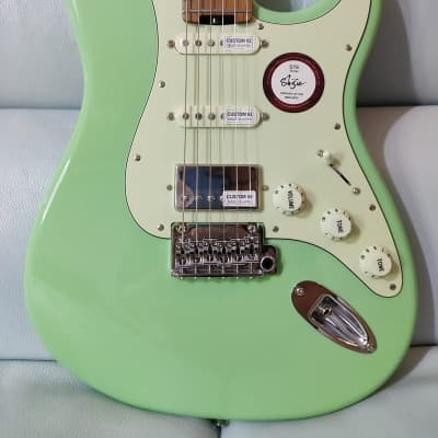 Shijie guitar STE SSH stainless 2021 Surf Green for sale